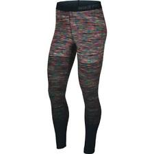 Nike Donna pro Ultra Riscaldante Multicolore Palestra M Collant Neri