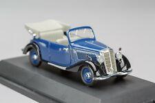 Mercedes 170 V Cabrio Blue/Black 1936-1951  SCHUCO 1:43