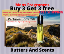 Cologne Body Oils For Men-Pick Your Fragrance-No Alcohol-Uncut 1/3oz Roll On