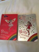 Thick Rainbow Magic fairy Orchard books 2 in total Daisy Meadows Xmas