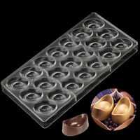 Gold Ingots PC Chocolate Mold Polycarbonate Candy Mould Pastry Baking Tools