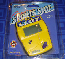 SPORTS SLOT Electronic Handheld Travel Game Radica New In The Package Slots