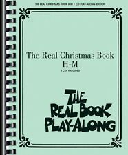 The Real Christmas Book Play-Along Vol. H-M Real Book Play-Along CD NE 000240432