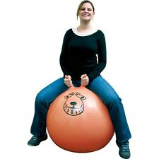 Extra Large Adult Size 80cm Retro Orange Space Hopper Toy + FREE Pump 05307