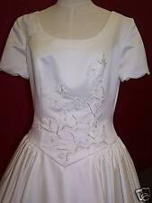 short sleeve~informal~sz.12~bridal gown dress~NWT~NICE