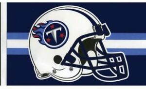 TENNESSEE TITANS NFL TEAM LOGO HELMET FLAG NFL Officially Licensed 3x5 ft  Flag