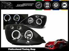 FARI ANTERIORI HEADLIGHTS LPFO09 FORD FIESTA MK6 2002 2003 2004 2005 ANGEL EYES