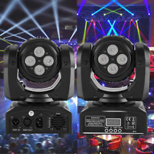 Double Sides 90W Lighting RGBW LED Beam Moving Head DMX Disco Stage Lights Party