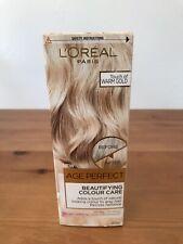L'Oreal Paris Age Perfect Beautifying Colour Care Warm Gold Grey Hair Toner 80ml
