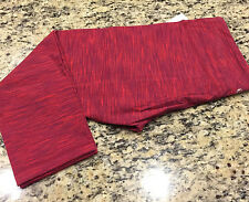NWT Lululemon Wunder Under Crop II diamond jacquard space dye bumble berry 4