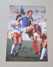 Jean-Pierre Papin Signed 12x8 Photo Autograph Genuine France Memorabilia + COA