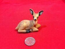 Miniature Ceramic Figurine FAWN Quoddy Wigwam Perry, Maine