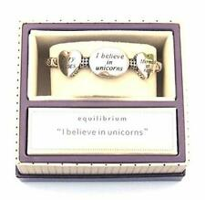 Equilibrium I Believe In Unicorns Stretch Bangle Bracelet