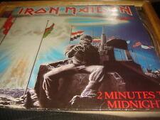 """IRON MAIDEN - 2 Minutes To Midnight - 12"""" single/EP UK 1st 1984 - 12EMI 5489 EX"""
