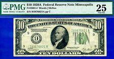 Ultra Rare 1928-A $10 FRN (( Minneapolis )) PMG Very-Fine 25 Tear # I03676821A