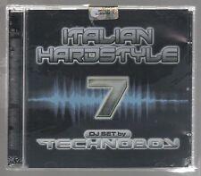 ITALIAN HARDSTYLE VOL. 7 TECHNOBOY  - 2 CD  F.C.SIGILLATO!!!