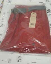 Levi's Snap Cargo Shorts Rio Red size 36 With Belt NWT
