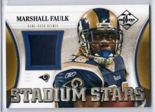 2012 Limited Marshall Faulk Helmet /99 Rams RB HOF