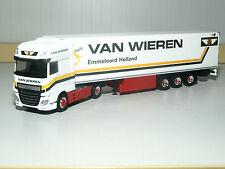 Herpa DAF XF SSC Euro 6 valigia di raffreddamento-autoarticolati Van Wieren (NL) 306256