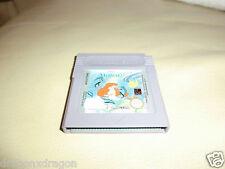 The Little Mermaid (Nintendo Game Boy) sólo módulo de juego