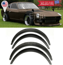 "1.75"" Front 2.75"" Rear ABS Black Flexible 4 Pieces Wide Fender Flares For Dodge"