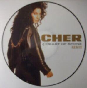 Cher, Heart Of Stone, NEW/MINT Original UK PICTURE DISC 12 inch vinyl single