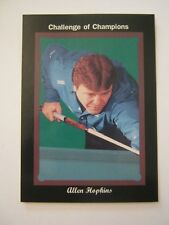 Allen Hopkins 1993 Pro Billliards Tour, Challenge Of Champions, Card #54 (MS-11)
