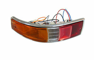 Complete Taillight Assembly, Euro, Left, Porsche 911/912 (65-68), 901.631.403.00