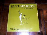 Lillian Watters - Faith Secrets 1961 Verity V-3302 SEALED Christian Spoken Word