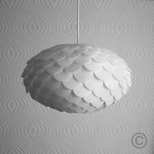 Modern Retro White Designer Style Artichoke Ceiling Pendant Light Shade Lighting