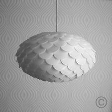 Modern Retro White Designer Style Artichoke Ceiling Pendant Light Shade Lighting