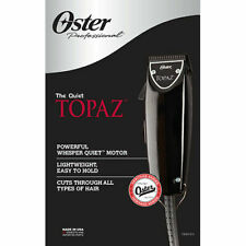 New Oster Professional Topaz (Black Fast Feed) Adjustable Blade Clipper
