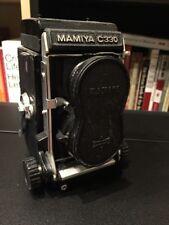 Mamiya C330 Pro Medium Format TLR Film Camera with 80/2.8 and 55/4.5 Lenses