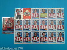 Topps Champions League 2016-17 2017 Team PSV Eindhoven 2016 2017 completo