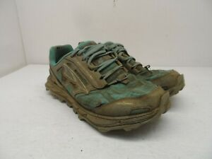 Altra Women's Lone Peak 4 Trail Running Shoes Teal/Grey Size 7.5M