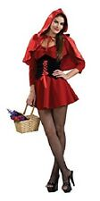 Sexy Red Riding Hood Adult Women's Costume Medium