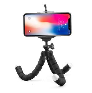 Mini Flexible Sponge Octopus Tripod Mobile Phone Smartphone Tripod