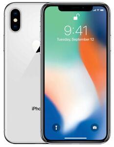 iPhone X - 64GB/256GB - Factory Unlocked Pristine Condition