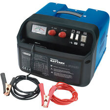 DRAPER 120A AMP 12V 24V CAR VAN LORRY BATTERY CHARGER STARTER BOOSTER 400AH
