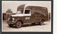 Postcard Doncaster Yorkshire commercial vehicle DT 7681 Garnham Hunt RP creased