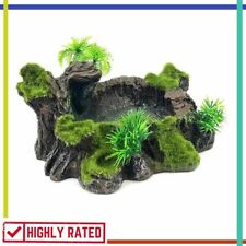 Artificial Tree Trunk Aquarium Decor Fish Tank Accessories Plastic Reptile Chnee
