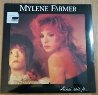 Mylene FARMER Ainsi Sois Je Vinyle Neuf Sous Blister