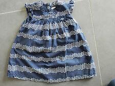 Kanz Kleid mit Flügelarm Baby Gr. 86 blau