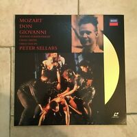 Mozart _ Don Giovanni _ 2 X LaserDisc _ 1991 Decca Germany _near mint