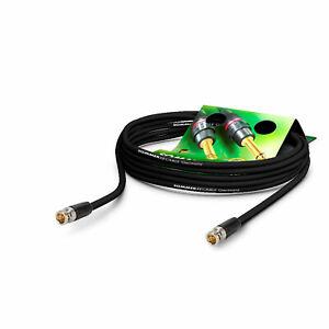 Sommer Cable 10m 6G BNC 3G Sdi Cable 4K UHD HD Neutrik Reartwist Enchufe - Vtgr