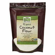 Organique Noix de Coco Farine 473ml par Now Foods