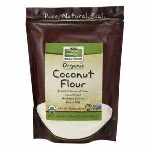 Organic Coconut Flour 16 oz by Now Foods