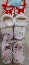 Paket 3 Paar Babyschuhe Ballerinas Größe 18 Neu