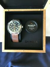 Shinola 41mm Initial Limited Edition Runwell Watch #124 of a production of 1500