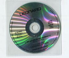 Leonard cd-PROMO WIR SIND ALLE STERNENWANDERER © 2014 da music German-1-Track-CD